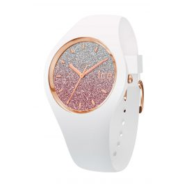 Ice-Watch 013427 Damenuhr Ice Lo Weiß/Pink S