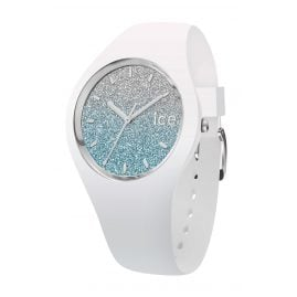 Ice-Watch 013425 Ladies Watch Ice Lo White/Light Blue S