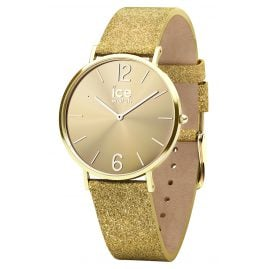 Ice-Watch 015087 Ladies Watch City Sparkling Glitter Gold S