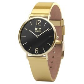 Ice-Watch 015090 Damenarmbanduhr City Sparkling Metal Gold S