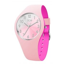 Ice-Watch 016979 Damenuhr Duo Chic Pink/Silber S