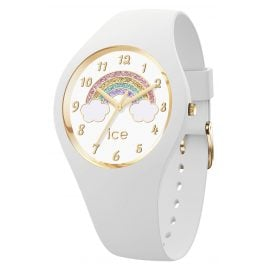 Ice-Watch 017889 Kinderuhr Rainbow ICE fantasia White S Weiß