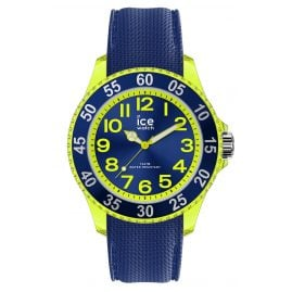 Ice-Watch 017734 Kinderuhr ICE cartoon Raumschiff Blau Gelb S