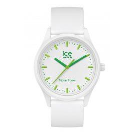 Ice-Watch 018473 Solar Wristwatch S White/Green