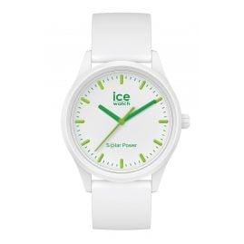 Ice-Watch 018473 Solar-Armbanduhr S Weiß/Grün