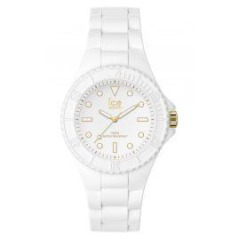 Ice-Watch 019140 Armbanduhr ICE Generation S Weiß/Goldfarben