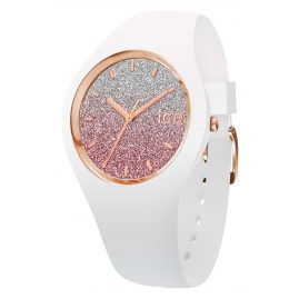 Ice-Watch 013431 Armbanduhr Ice Lo Weiß/Pink M