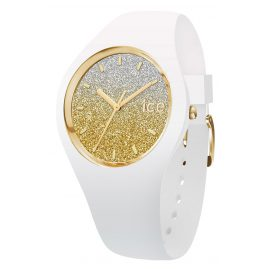 Ice-Watch 013432 Armbanduhr Ice Lo Weiß/Gold M