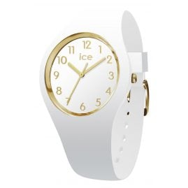 Ice-Watch 015339 Damenarmbanduhr Glam weiß/gold M