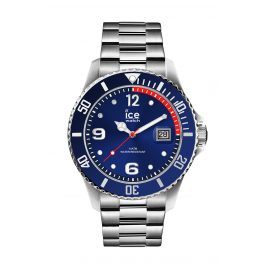 Ice-Watch 015771 Herrenuhr Ice Steel Blue Silver M