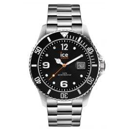 Ice-Watch 016032 Men's Watch Ice Steel Black Silver L