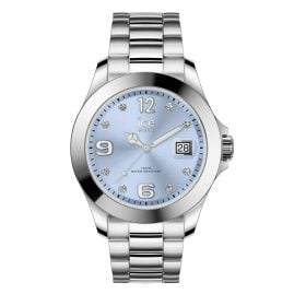Ice-Watch 016775 Damenuhr Ice Steel Light Blue M