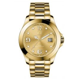 Ice-Watch 016777 Ladies Watch Ice Steel Gold Shiny M