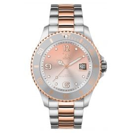 Ice-Watch 016769 Damenuhr Ice Steel Silver Sunset Rose-Gold M