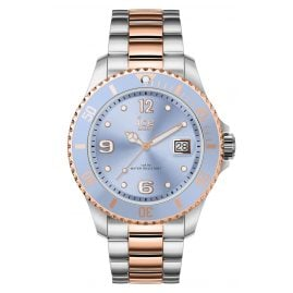 Ice-Watch 016770 Damenuhr Ice Steel Sky Silver Rose-Gold M