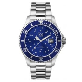 Ice-Watch 016773 Ladies Watch Ice Steel Blue Cosmos Silver M