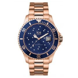 Ice-Watch 016774 Ladies Watch Ice Steel Blue Cosmos Rose-Gold M