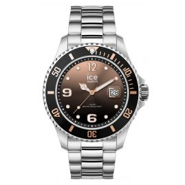 Ice-Watch 016768 Wrist Watch Ice Steel Black Sunset Silver M