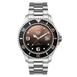 Ice-Watch 016768 Armbanduhr Ice Steel Black Sunset Silver M