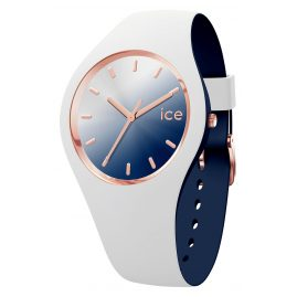 Ice-Watch 016983 Damenuhr Duo Chic Weiß/Marine M