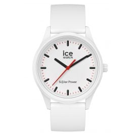 Ice-Watch 017761 Solar-Armbanduhr Polar M Weiß