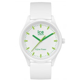 Ice-Watch 017762 Solar Watch Nature M White / Green