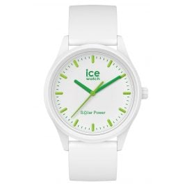Ice-Watch 017762 Solaruhr Nature M Weiß / Grün