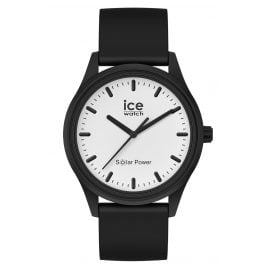 Ice-Watch 017763 Solaruhr Moon M Schwarz / Weiß