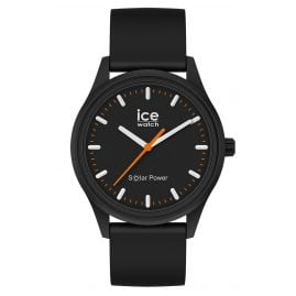 Ice-Watch 017764 Solar Wristwatch Rock M Black