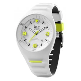 Ice-Watch 017594 Wristwatch P. Leclercq M White/Neon Yellow