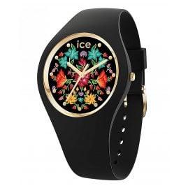 Ice-Watch 019206 Damenuhr ICE Flower M Schwarz/Bunt