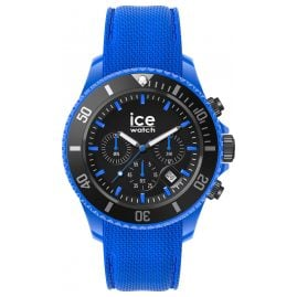 Ice-Watch 019840 Herrenuhr Chronograph ICE Chrono L Neonblau