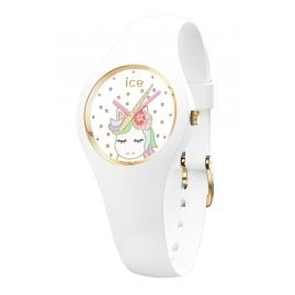 Ice-Watch 018421 Armbanduhr ICE Fantasia XS Einhorn Weiß