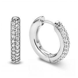Ti Sento 7557ZI Damen-Ohrringe Silber mit Zirkonia