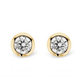 Ti Sento 7597ZY Ladies' Stud Earrings Gold-Plated Silver