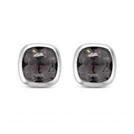 Ti Sento 7808GB Silber-Ohrringe für Damen Grau