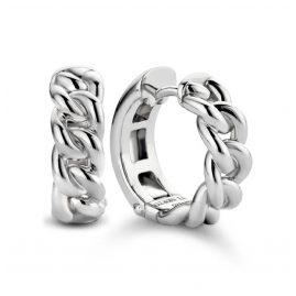 Ti Sento 7832SI Damen-Ohrringe Creolen Silber