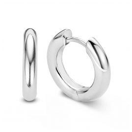 Ti Sento 7557SI Ladies' Hoop Earrings Silver