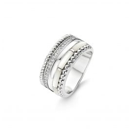 Ti Sento 12038MW Silber Damen-Ring mit Perlmutt