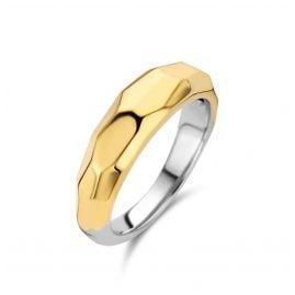 Ti Sento 12201SY Damen-Ring Silber vergoldet