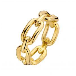 Ti Sento 12205SY Damenring Silber vergoldet