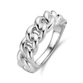Ti Sento 12209SI Kettenring für Damen Silber