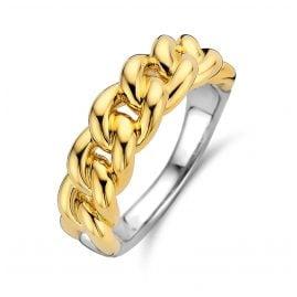 Ti Sento 12209SY Kettenring für Damen Goldfarben