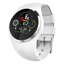 Atlanta 9703/0 Smartwatch with Touch Display White