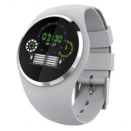 Atlanta 9703/4 Smartwatch mit Touchdisplay Hellgrau