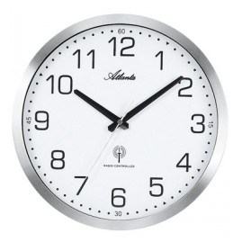 Atlanta 4371/0 Radio-Controlled Wall Clock