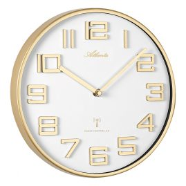 Atlanta 4386/9 Radio-Controlled Wall Clock
