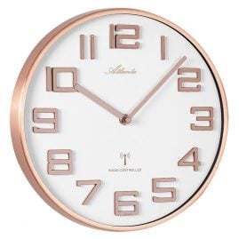Atlanta 4386/18 Radio-Controlled Wall Clock