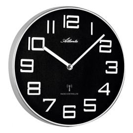 Atlanta 4386/19 Radio-Controlled Wall Clock