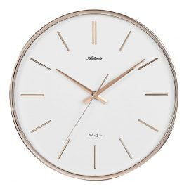 Atlanta 4456/18 Quartz Wall Clock with Silent Movement